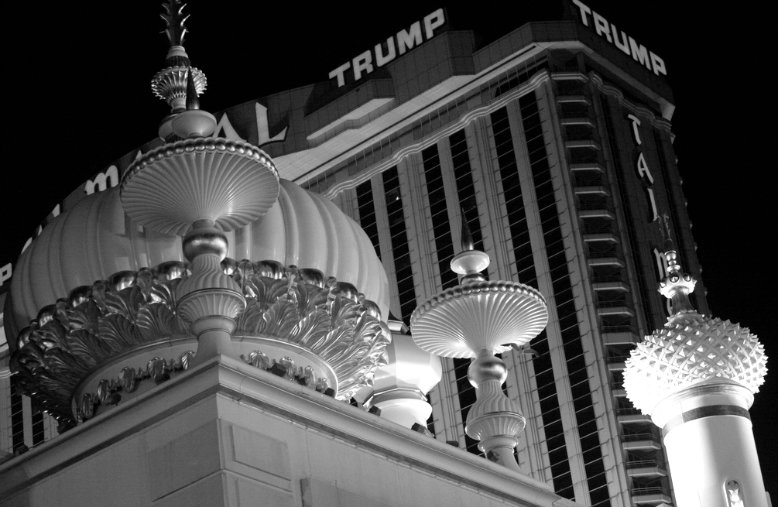 The Trump Taj Mahal filed for Chapter 11 bankruptcy in 1991. The deal caused Trump to give up half his personal stake in the casino, and he sold his yacht and airline. Courtesy of Flickr/Bahman