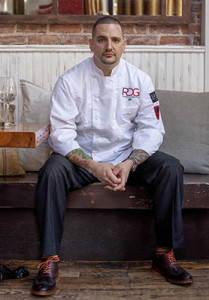 Chef Michael Fiorianti of Satis and the new Raval, both in Jersey City. Phto: Meredith Desmond