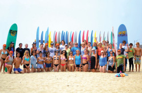Summertime Surf, a wave-riding school with seven Jersey Shore locations, offers Women's Surf Weekends throughout the summer.