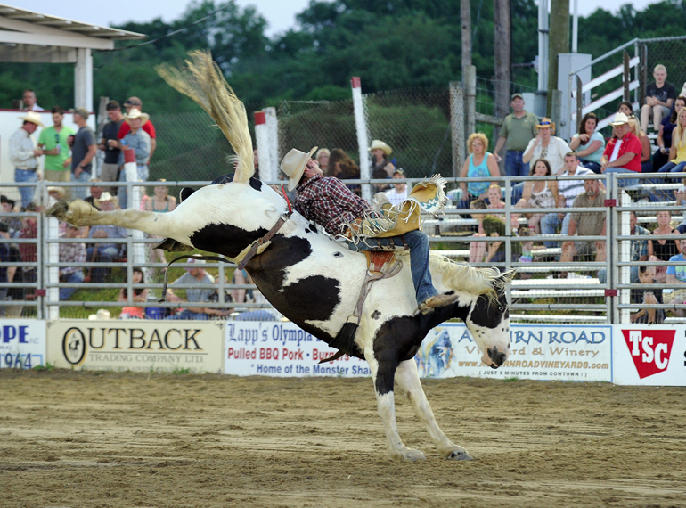 Photo courtesy of Cowtown Rodeo.