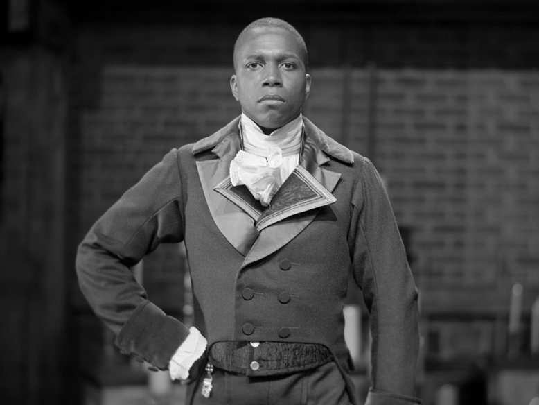 "Aaron Burr as portrayed by Leslie Odom Jr. in the musical ""Hamilton."""