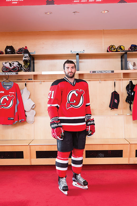 various colors 3f2f0 aab79 Kyle Palmieri: Skating Home - New Jersey Monthly