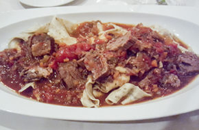 Casa Bellisima short rib pappardelle. Photo: Suzanne Zimmer Lowery