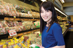 Chef and dietitian Atsuko Sasaki on one of her 80-mile round-trips to Mitsuwa Marketplace in Edgewater.