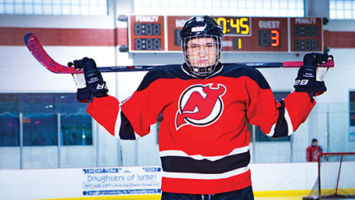 Will Milazzo is a nine-year veteran on the New Jersey Dare Devils, a hockey team for young people with autism and other developmental disabilities.