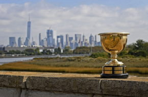 Course scenics of Liberty National Golf Club, host course of the 2017 Presidents Cup in Jersey City.