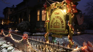Enjoy holiday-themed events throughout December during Christmas in Cape May. Tour decorated inns, take a ghosts-of- Christmas-past trolley ride and more.
