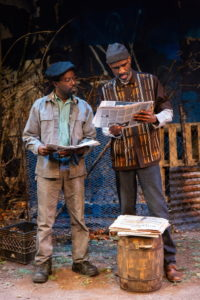 "At a rehearsal of August Wilson's ""King Hedley II"" at Two River Theater in Red Bank"