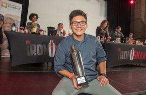 Carlos Ruiz of Somos in North Arlington takes top prize at Iron Shaker 2018.