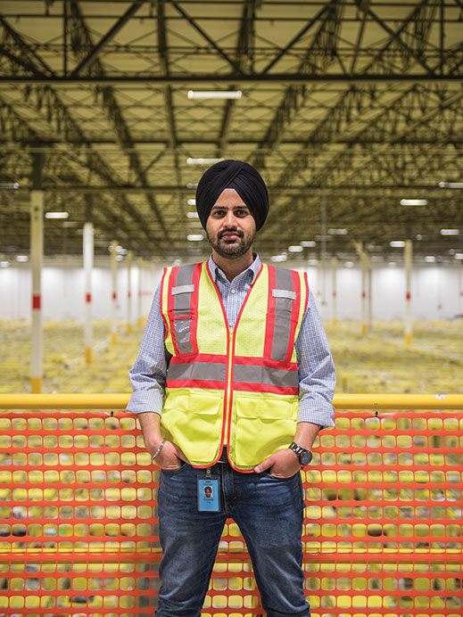 """""""From the moment you click we're trying to beat the clock.""""—Preet Virdi director of operations"""