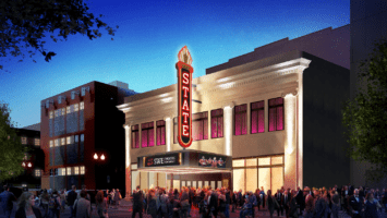 Rendering of State Theatre exterior