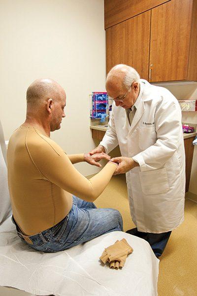 Caregivers at The Burn Center at Saint Barnabas Hospital Meet Trauma ...