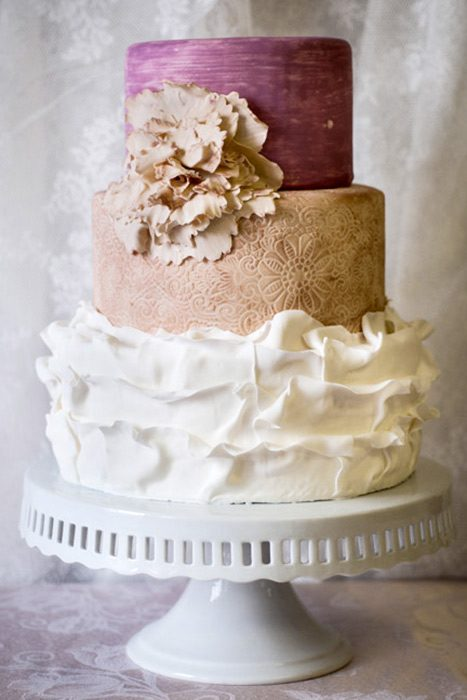 Wedding Cakes Shed No Tiers - Soup to Nuts - New Jersey Monthly