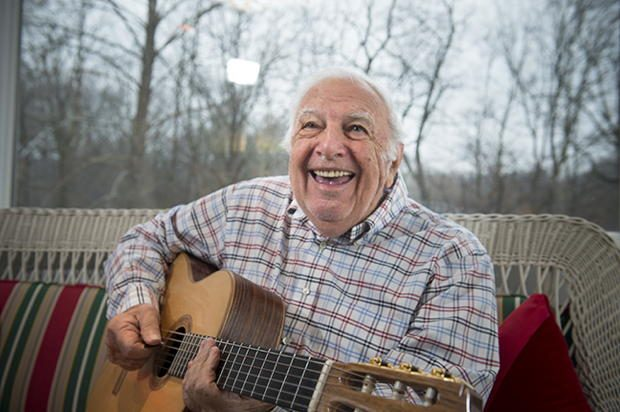 On any given morning, you can find Bucky Pizzarelli noodling on the guitar in the sunroom of his Saddle River home.