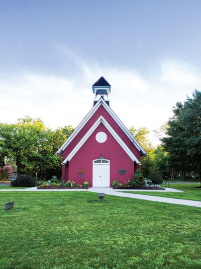 Among Florham Park's favorite icons are the 19th century Little Red School House.