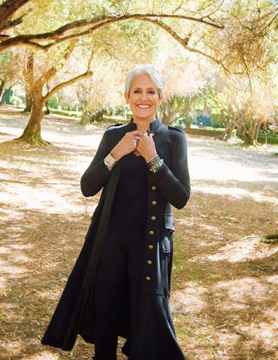At 77, Joan Baez, one of the most compelling and enduring voices to emerge from the 1960s folk-music scene, is embarking on her final Fare Thee Well tour. As an activist, she has participated in demonstrations with Martin Luther King Jr., Cesar Chavez and Nelson Mandela.