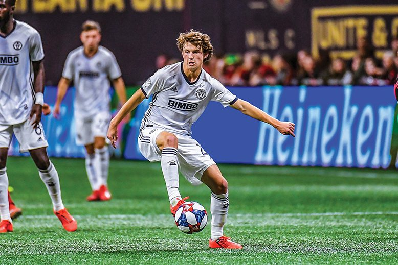8e2698f38e8 Meet the Philadelphia Union s Youngest Hometown Player. At just 18 years  old
