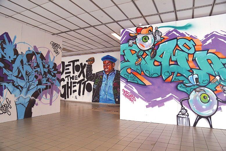 morris museum graffiti