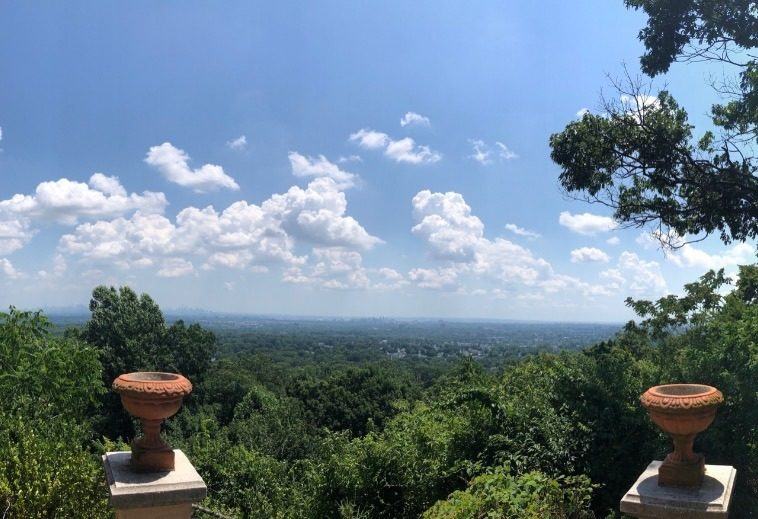 View from The Highlawn in West Orange